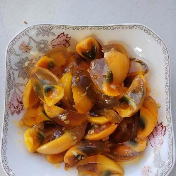 凉拌黄金海茸条