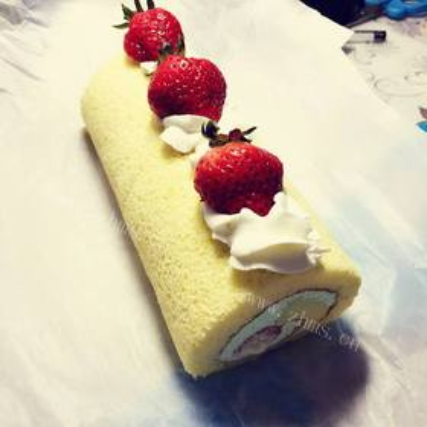 美味蛋糕卷