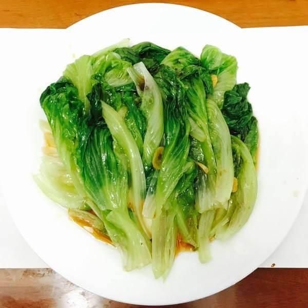 蒜蓉炒西生菜