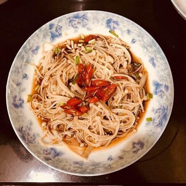 辣味金针菇