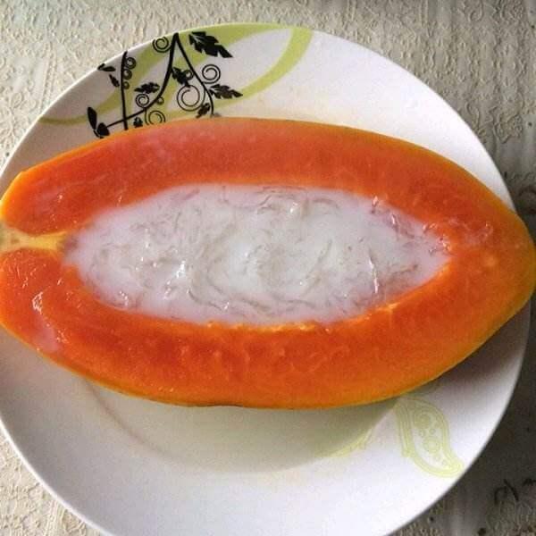 燕窝炖木瓜