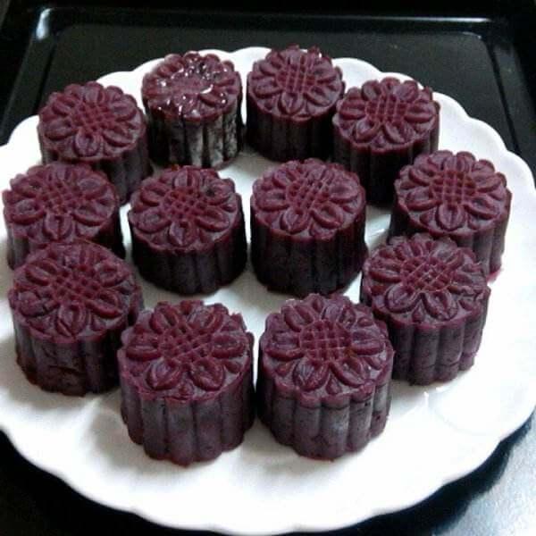 自制紫薯月饼馅