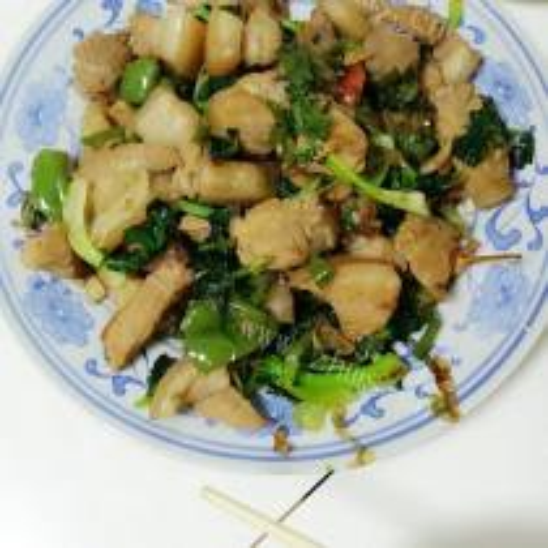 苔菜炖豆腐