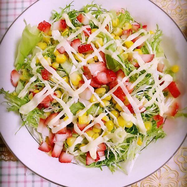 清凉薄荷蔬果沙拉