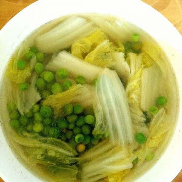 豌豆脆骨汤