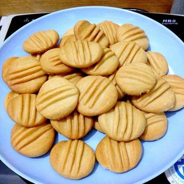 花生圆香饼干