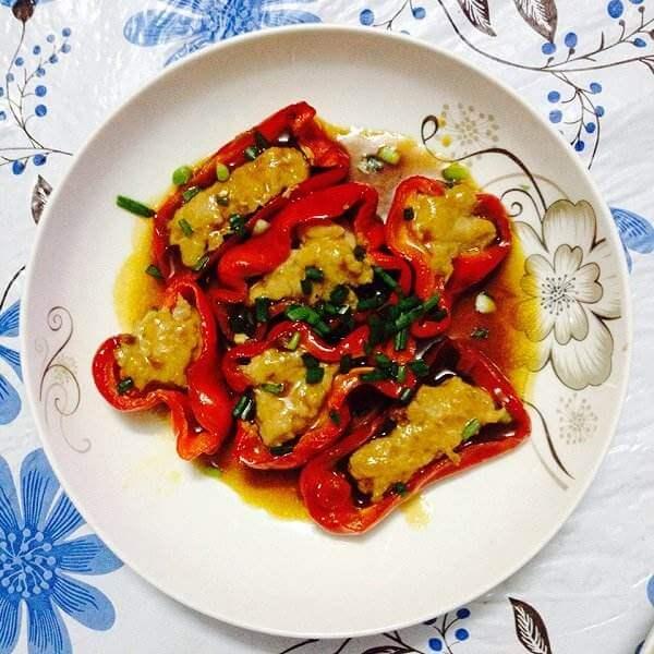 滋味素酿红椒