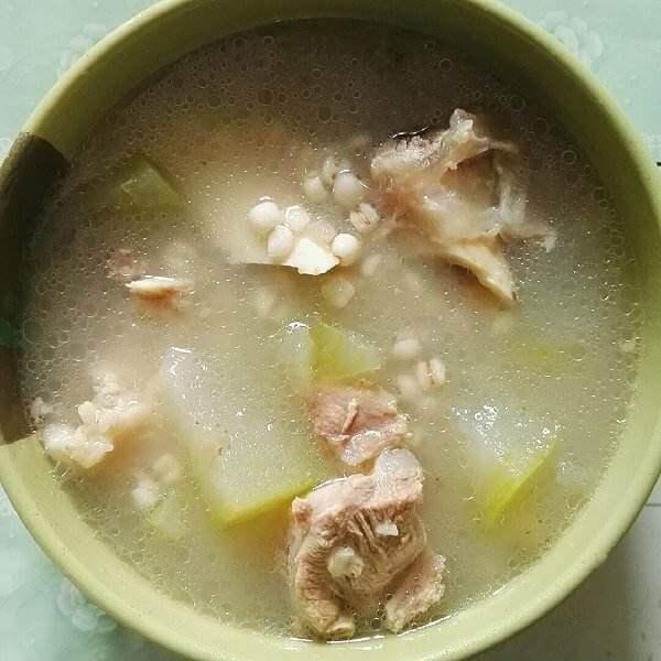 薏米冬瓜芡实猪骨汤