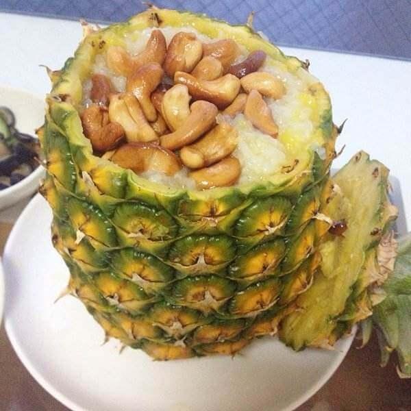 春田花花菠萝饭