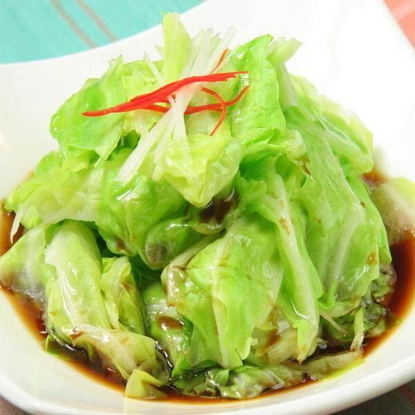 蒜蓉卷心菜