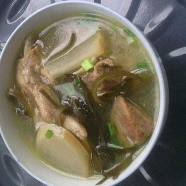洋姜老鸭汤