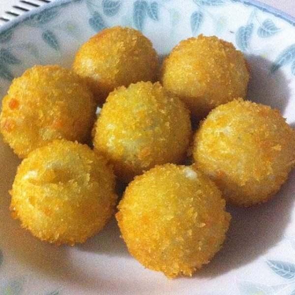 奶酪土豆球