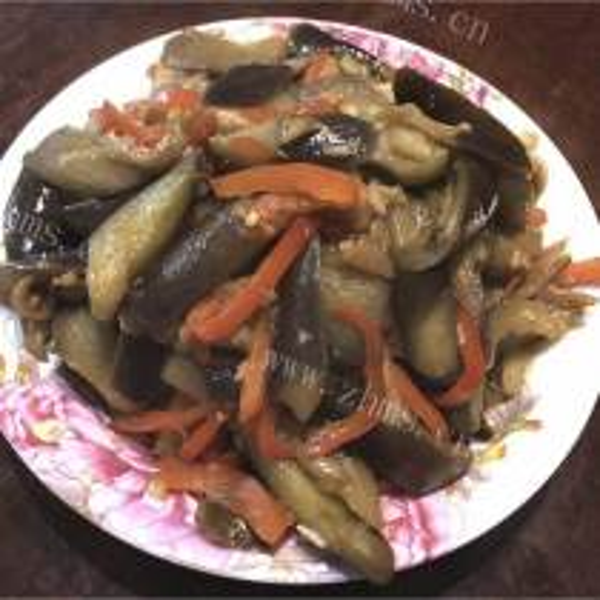 蚝油青椒茄子