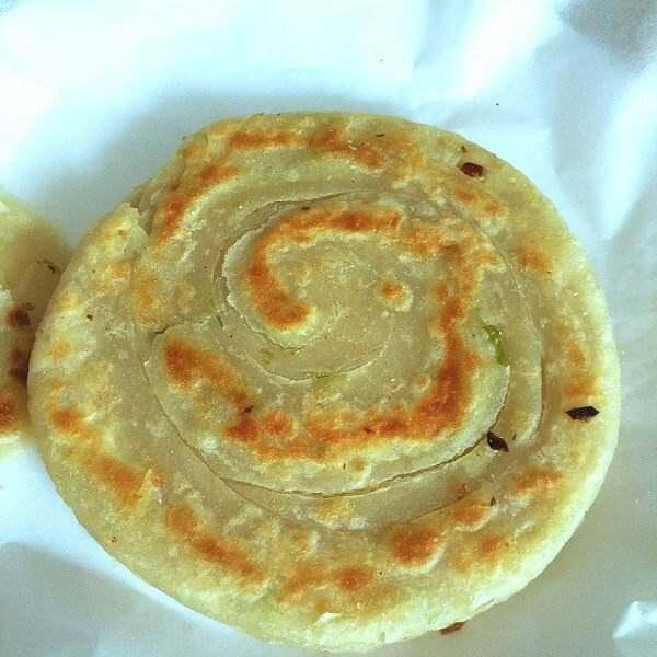 葱花蛋酥饼