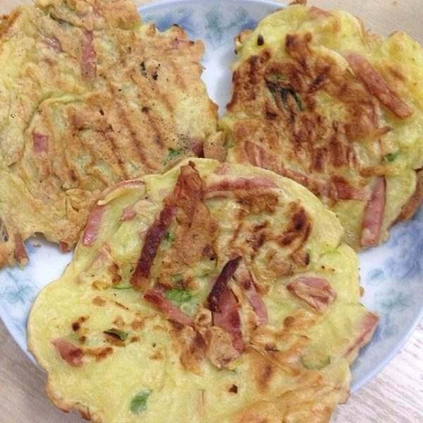 青鱼土豆饼