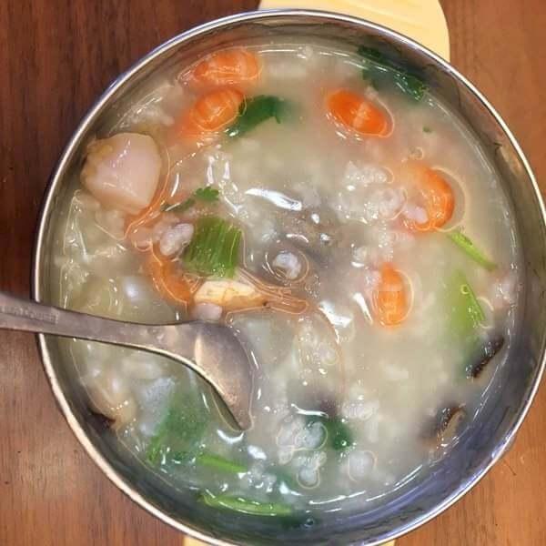 海鲜蛏子粥