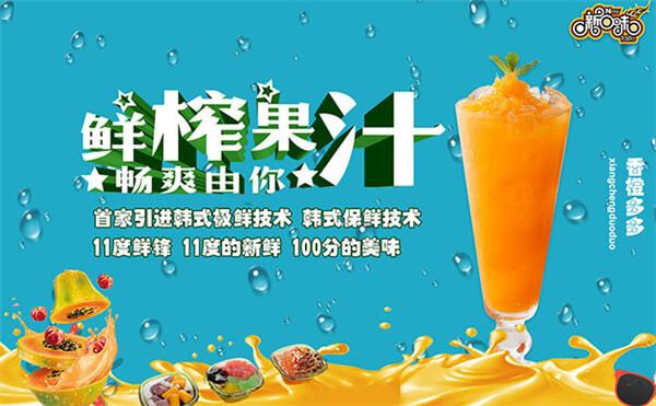 11°c鲜锋果汁加盟