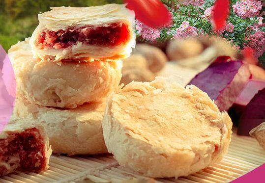 七彩玫瑰鲜花饼品牌介绍图3