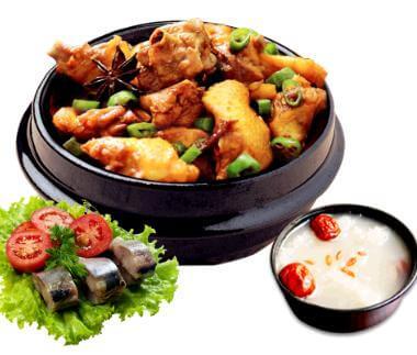 石佛营黄焖鸡米饭