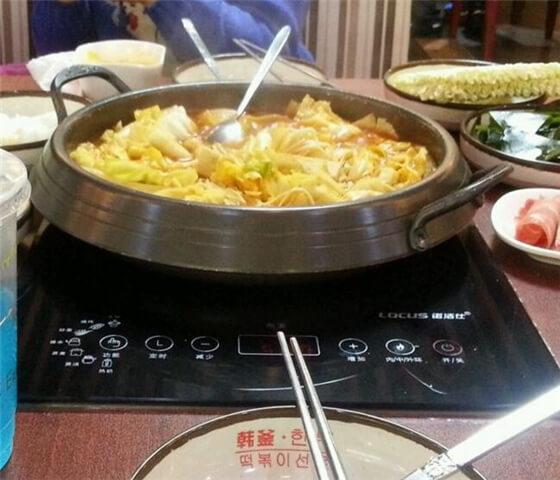 韩釜年糕火锅