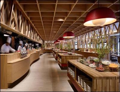 光合谷自助餐厅图3