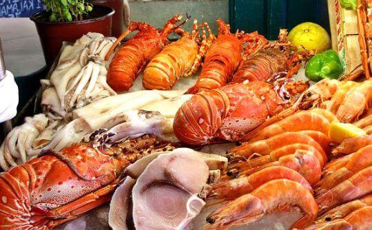 红沙鱼排自助海鲜