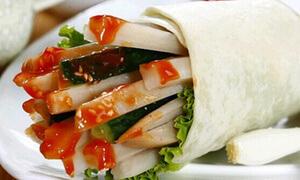 北京卤肉卷小吃