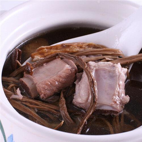 排骨茶樹菇湯
