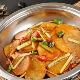香香糯糯的干锅土豆片