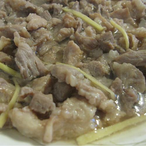 虾酱蒸腩肉