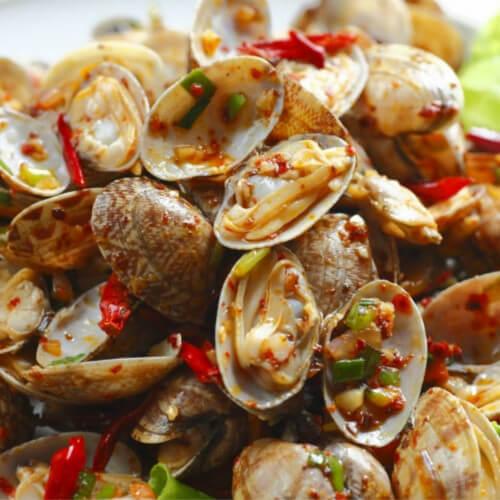 玉子豆腐燒蛤蜊