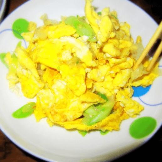 大蔥炒雞蛋