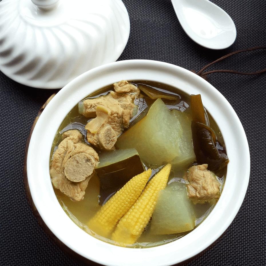 營養的冬瓜海帶排骨湯