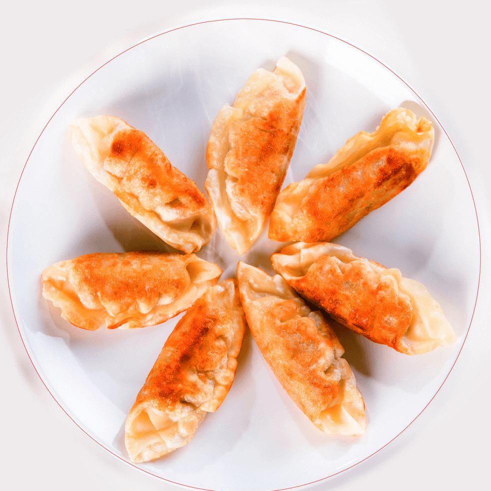 好吃的煎饺