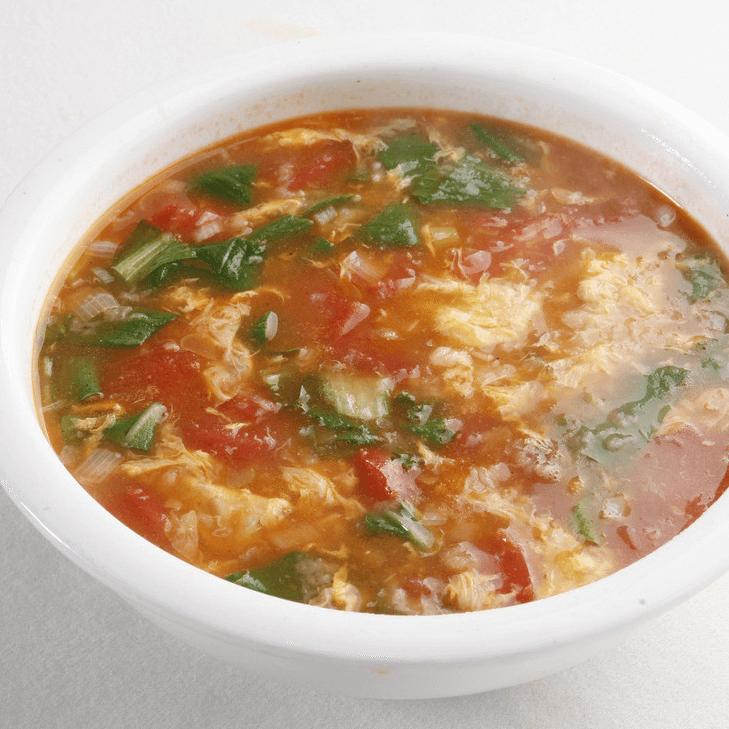 秀色可餐的疙瘩汤