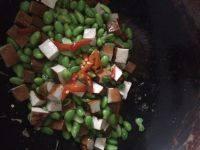 家常豆腐干毛豆炒鸡肉丁的做法图解七