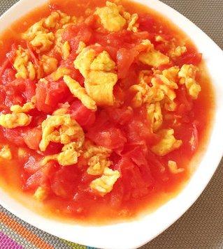 鲜美可口的番茄炒蛋