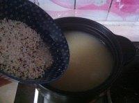 杂蔬板鸭藜麦粥的做法图解五