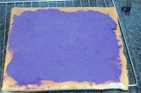 小吃小熊紫薯卷的做法图解十二
