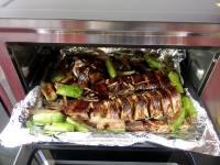美味的烤鱼