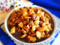 肉沫土豆茄子丁的做法图解九