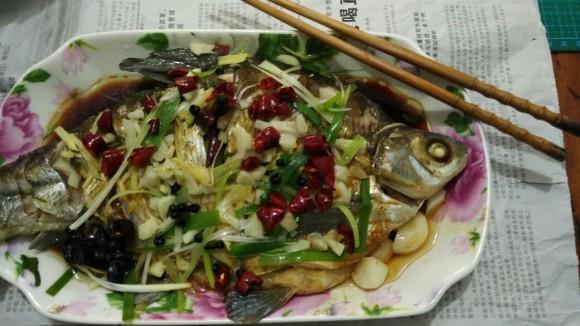 美味营养的清蒸武昌鱼