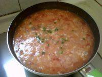 美味的西红柿疙瘩汤