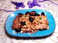 美味的三文鱼排炖黄豆的做法图解十