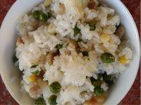 美味的懒人豆焖饭的做法图解十二