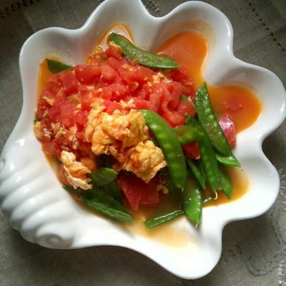 好吃的西红柿炒鸡蛋