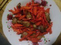 家常菜肉炒胡萝卜