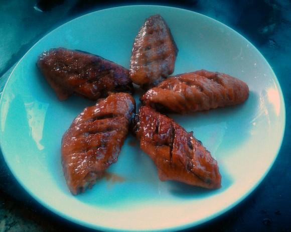 美味的蚝油鸡翅