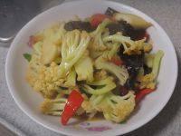 家有大厨之素炒花菜