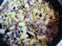肉沫土豆茄子丁的做法图解五